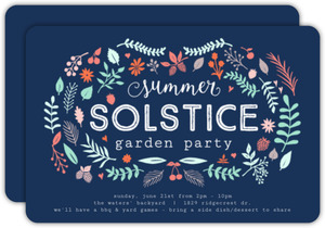 Vintage Garden Frame Summer Party Invitation