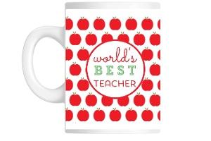 Happy Apple Teacher Mug