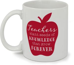 Teachers Knowledge Coffee Mug