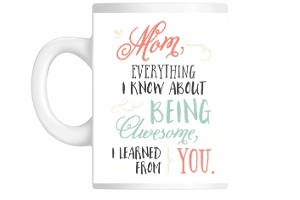 Being Awesome Mothers Day Coffee Mug