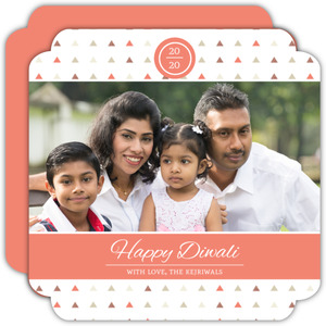 Decorative Patterns Diwali Card