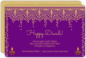 Festive Circles Diwali Card