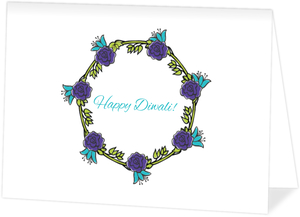 Diwali Blessings Greeting Card