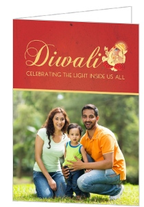 Lord Ganesha Diwali Greeting Card