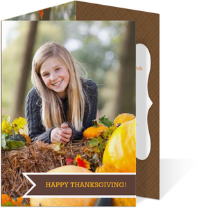 Happy Thanksgiving Trifold Invitation