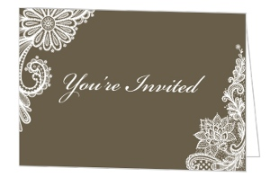 Formal Harvest Thanksgiving Invitation