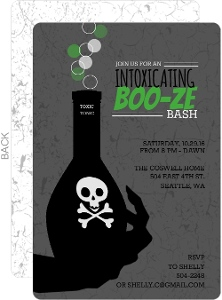 Adult Halloween Party Invitations impressions in print all posts tagged 39printable halloween halloween party invitations Toxic Potion Halloween Adult Halloween Party Invitation