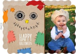 Scarecrow Halloween Greeting Card