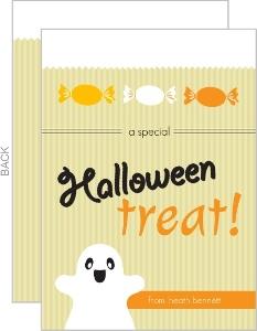 Bag of Treats Halloween Card