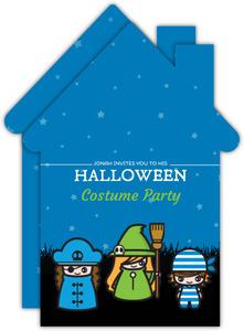 Spooktacular Halloween Birthday Card