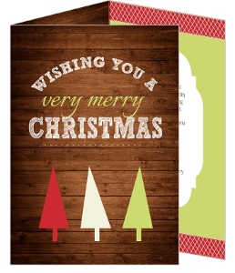 Rustic Country Christmas Card