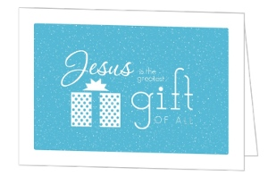 Ultimate Gift Christmas Card