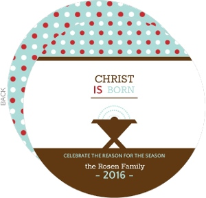 Spiritual Circle Christmas Card
