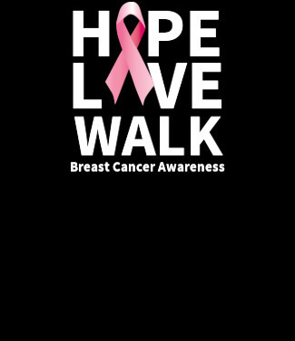 Hope Live Walk Breast Cancer Awareness Custom Tshirt