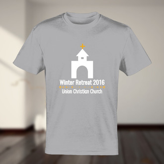 Church Winter Summer Retreat Tshirt