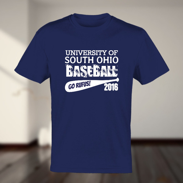 College Name Baseball Year Custom Tshirt