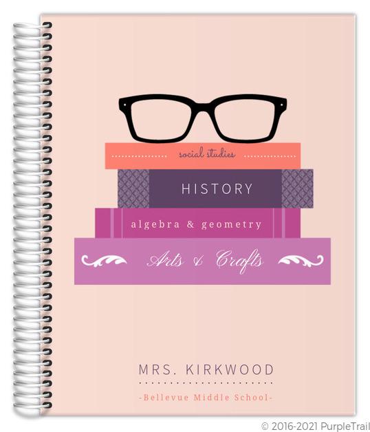 glasses amp books custom teacher planner teacher planners 3d floor plans roomsketcher