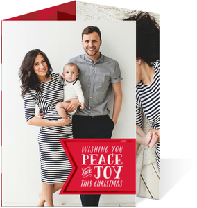 Peace and Joy - trifold