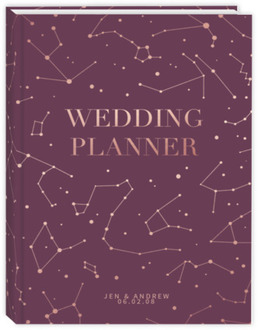 Modern Nautical Anchor Wedding Planner