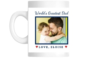 Worlds Greatest Dad Photo Mug