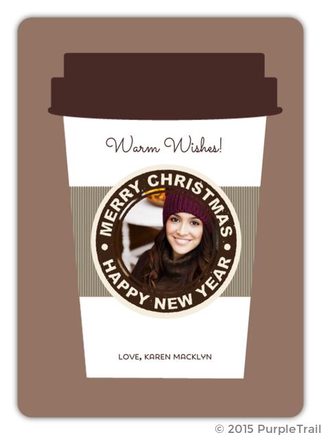 Java Christmas Photo Card