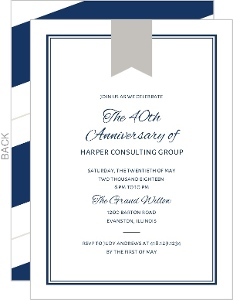 Past Presidents Dinner Invitation