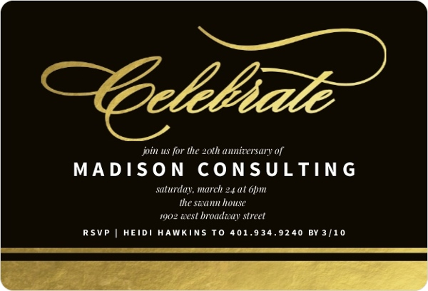 Business Event Invitations & Corporate Event Invites