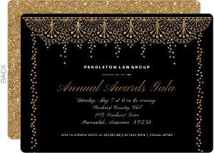 Formal Glam Corporate Event Invitation