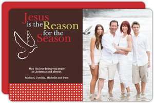 Jesus Is The Reason Christmas Photo Card