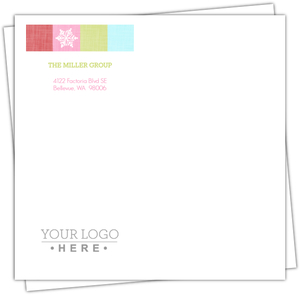 Colorful Holiday Cheer Holiday Envelope