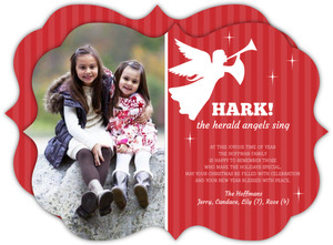 Little Angel Christmas Photo Card