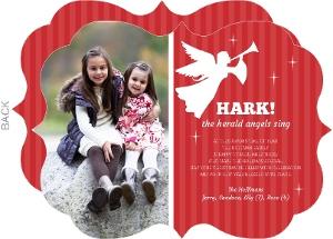 Little Angel Christmas Photo Card