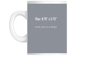 8.75 x 3.75 Mug - Create Your Own