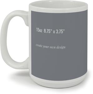 8.75 x 3.75 Mug - Create Your Own