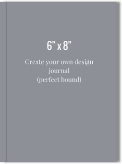 6x8 Perfect Bound Journal - Design Your Own
