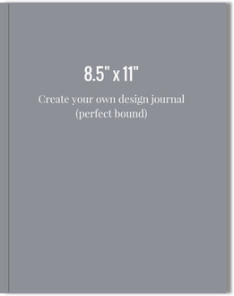8.5x11 Perfect Bound Journal - Design Your Own