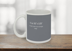 8.5x3.25 Mug - Design Your Own