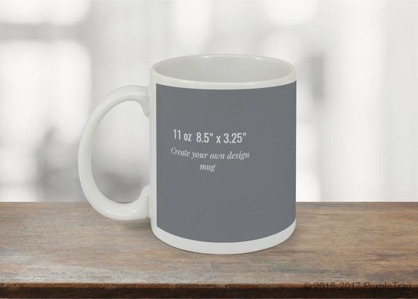 85x325 mug design your own