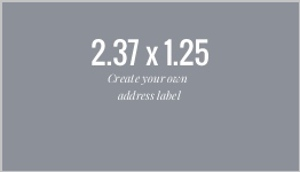 Address Label - Design Your Own