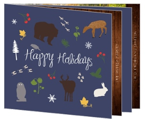 Woodland Holiday Photo Booklet