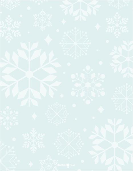 Elegant Winter Wonderland Christmas Letter – Christmas Letter Templates