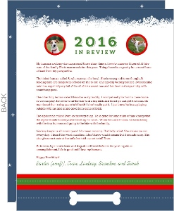 Dog Christmas Wishes  Christmas Letter
