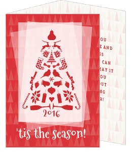 White Pine Christmas Card