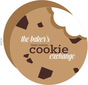 Cookie Bite Holiday Party Invitation