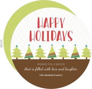 Whimsy Trees Holiday Card