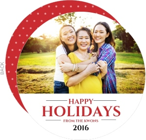 Simple Greetings  Holiday Photo Card