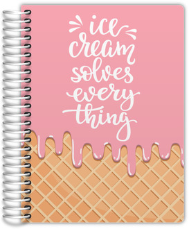 Ice Cream Melt Weekly Planner