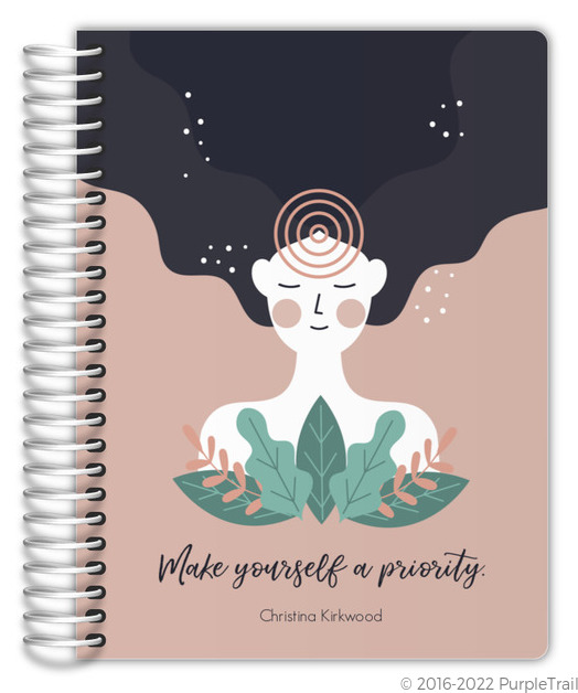 Peace Joy Everything Custom Cat Journal