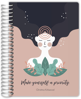 Peace Joy Everything Cat Journal