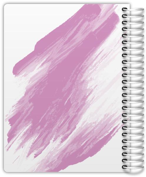 Paint Stroke Weekly Planner